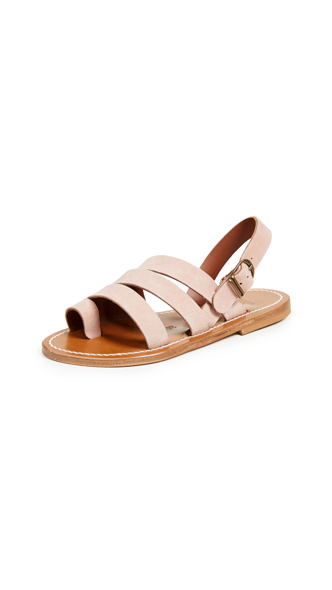 K. Jacques Frodon Sandals - Velours Faitor