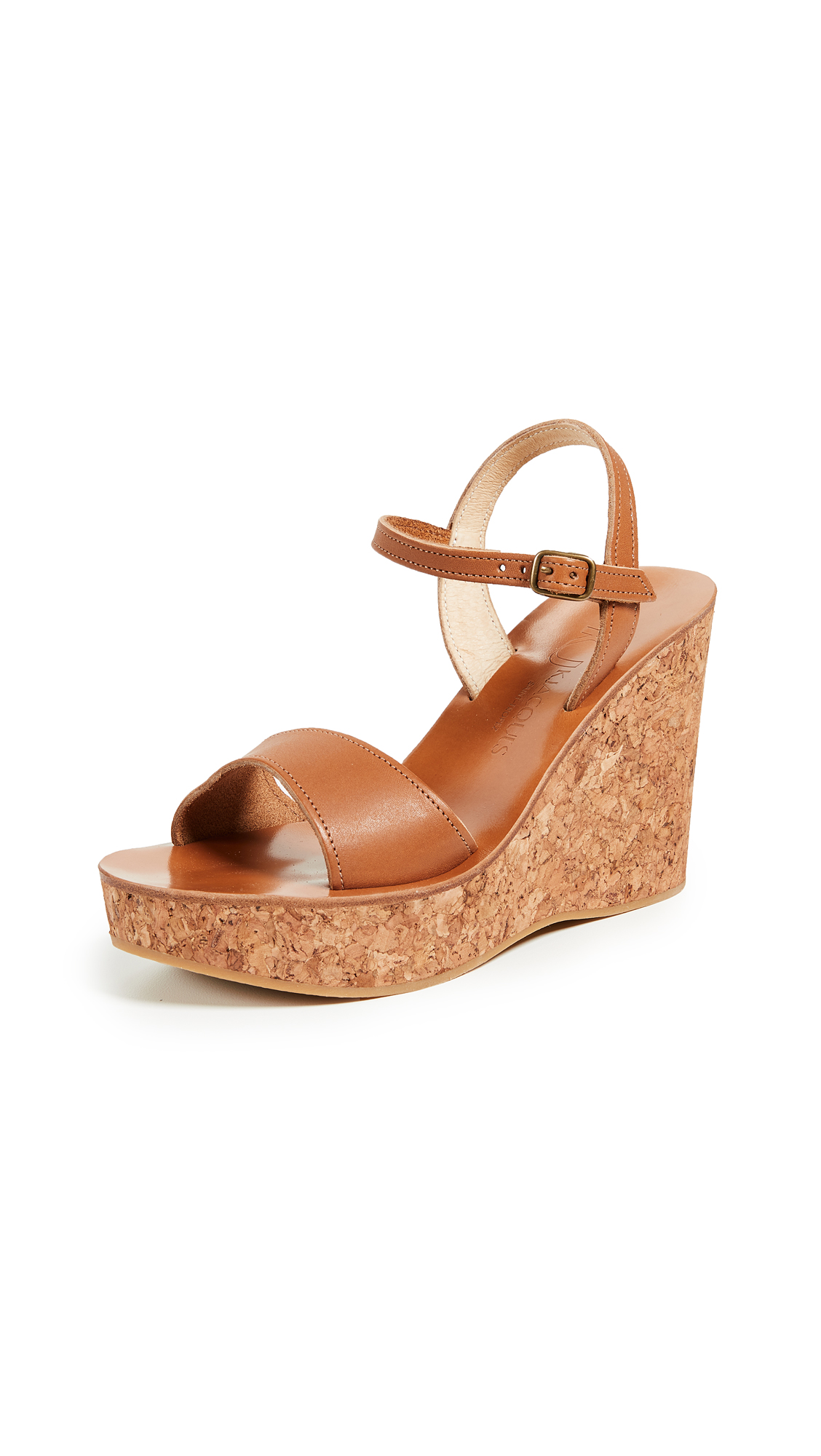 K. Jacques Sharon Wedges - Pul Naturel