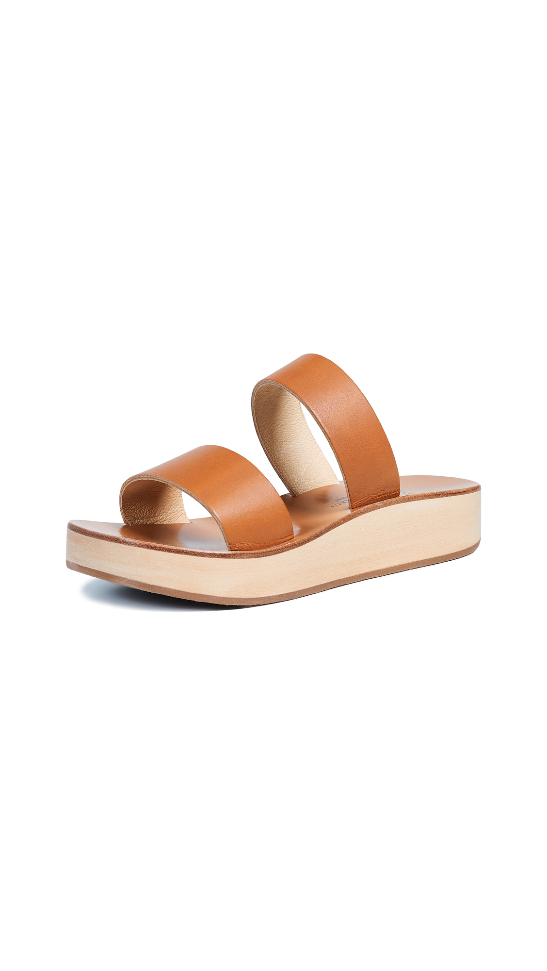 K. Jacques Sibel Platform Slides - Pul Naturel