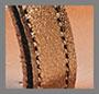 Бронзовая ткань ламе