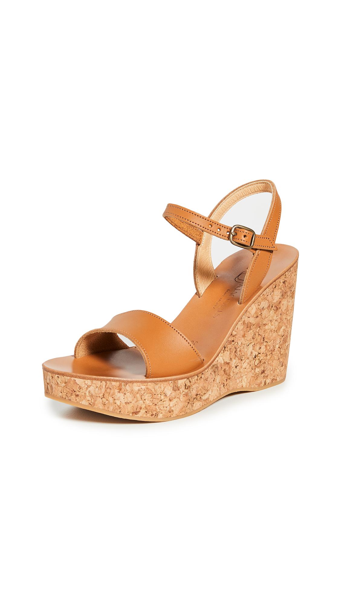 Buy K. Jacques Sharon Wedge Sandals online, shop K. Jacques