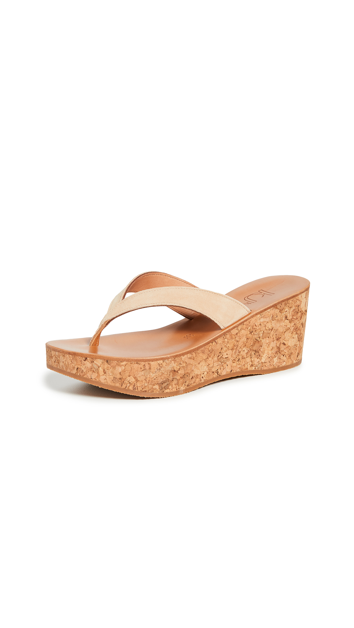 K. Jacques Diorite Thong Wedges – 40% Off Sale