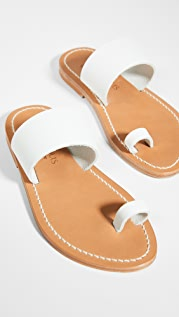 K. Jacques Nagoya Toe Ring Slides
