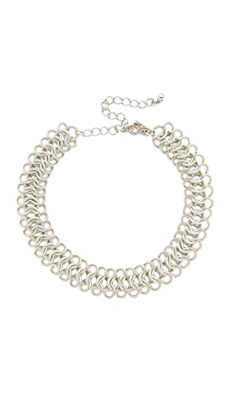 Kenneth Jay Lane Intertwined Choker Necklace