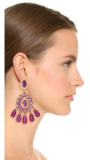 Kenneth Jay Lane Amy Drop Earrings