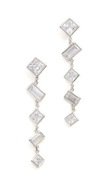 Kenneth Jay Lane Princess Drop Earrings