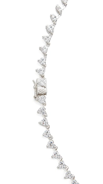 Kenneth Jay Lane All Hearts Classic Necklace