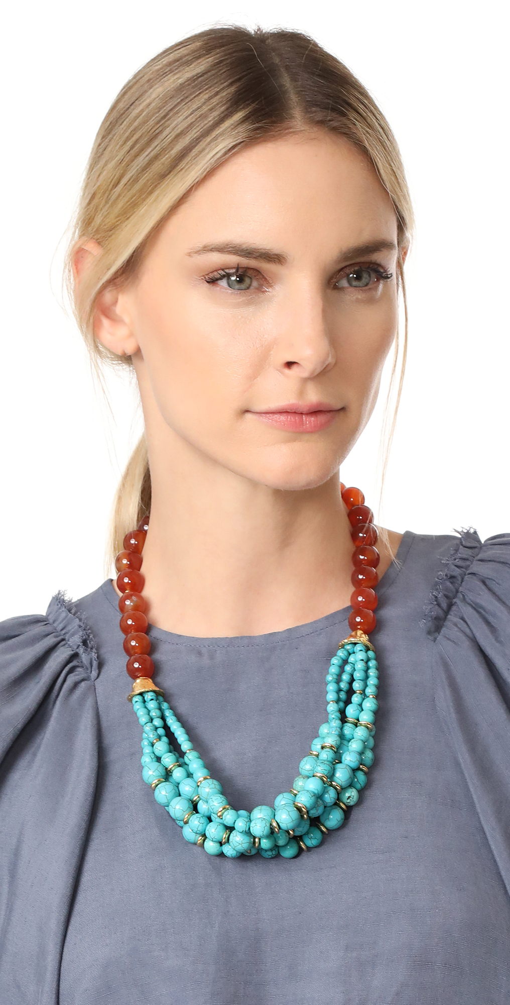 Kenneth Jay Lane Bead Chain Necklace