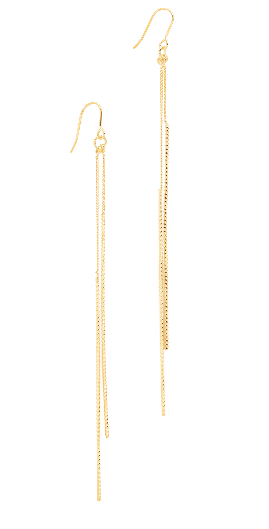 Double Bar Drop Earrings Kenneth Jay Lane