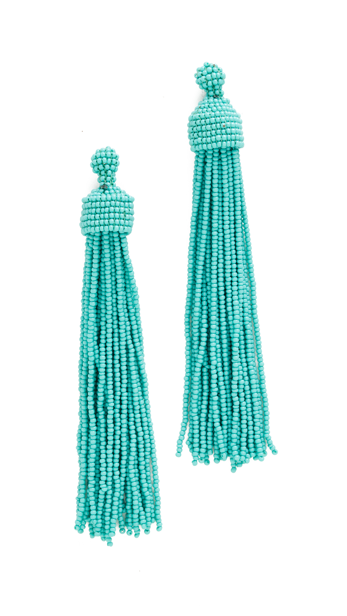 Kenneth Jay Lane Tassel Earrings