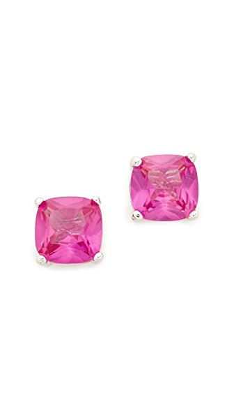 Kenneth Jay Lane Cushion Cut Stud Earrings