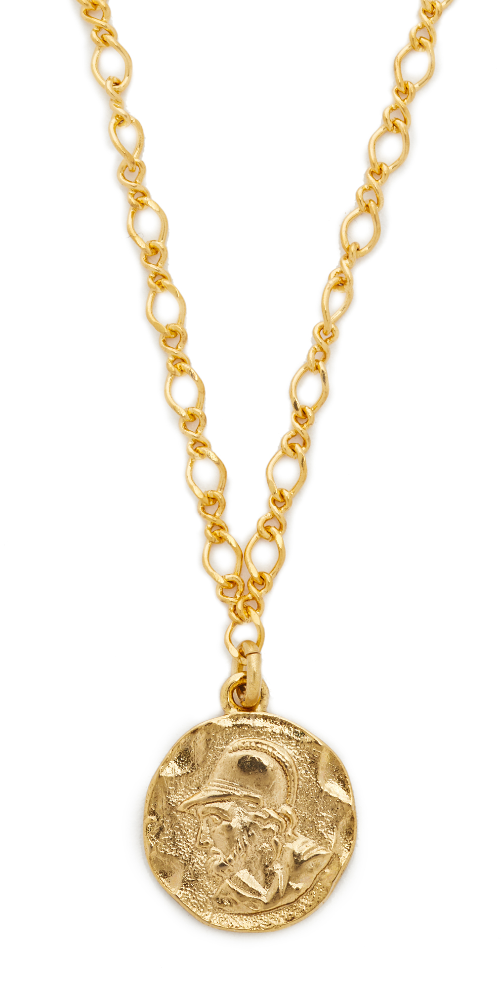 Coin Pendant Necklace Kenneth Jay Lane