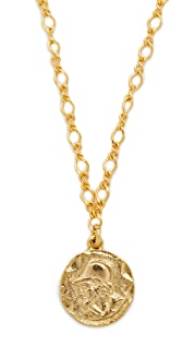 Kenneth Jay Lane Coin Pendant Necklace