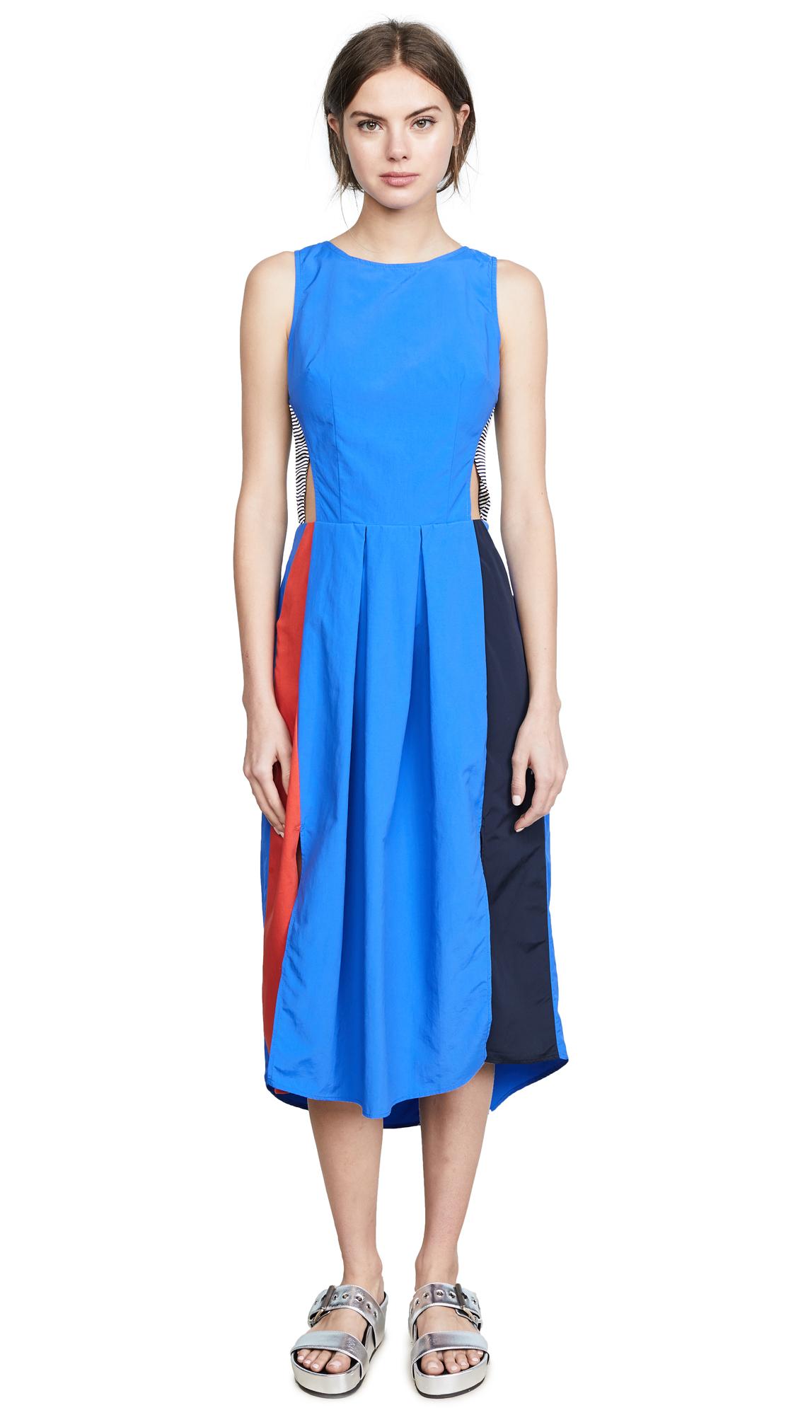 Katharine Kidd Hope Dress In Color Block