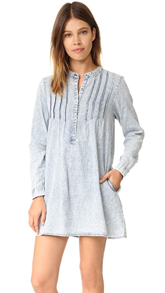 Knot Sisters Penny Dress - Chambray Stripe at Shopbop