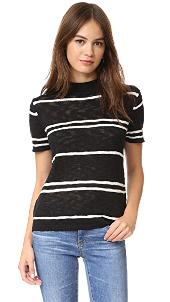 Knot Sisters Coastal Sweater - Black Stripe