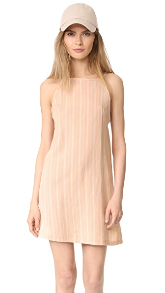 Knot Sisters Chelsea Dress - Pastel Stripe