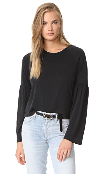 Knot Sisters Gracie Top - Faded Black