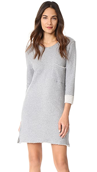 Knot Sisters Chicago Dress In Heather Grey