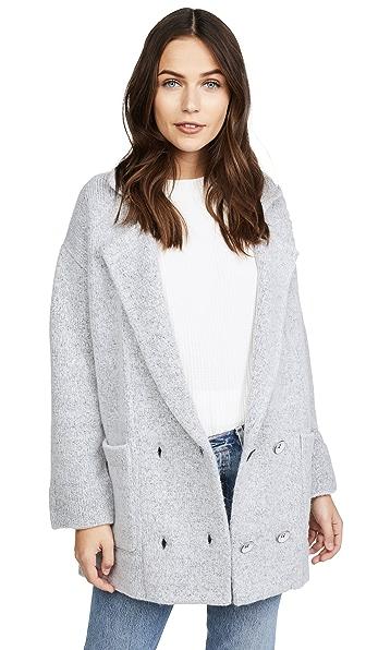 Knot Sisters El Capitan Sweater In Heather Grey