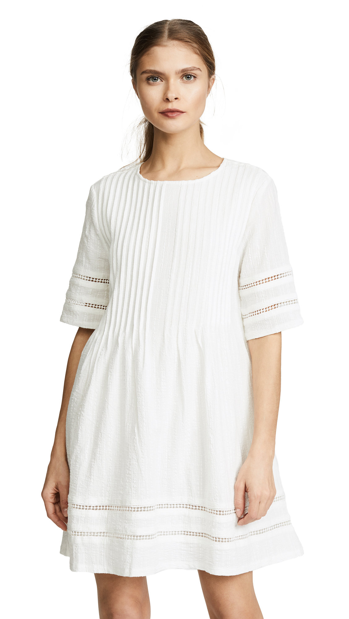 KNOT SISTERS Phillips Dress in White