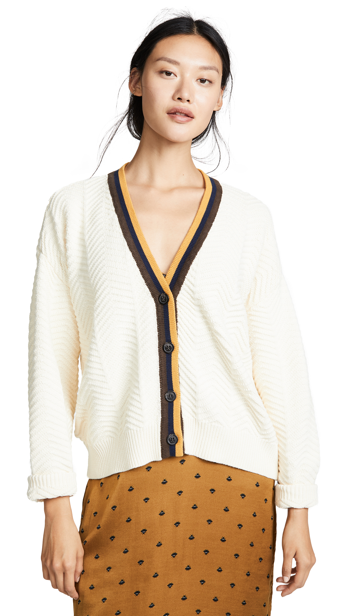 KNOT SISTERS Romy Cardigan in Natural