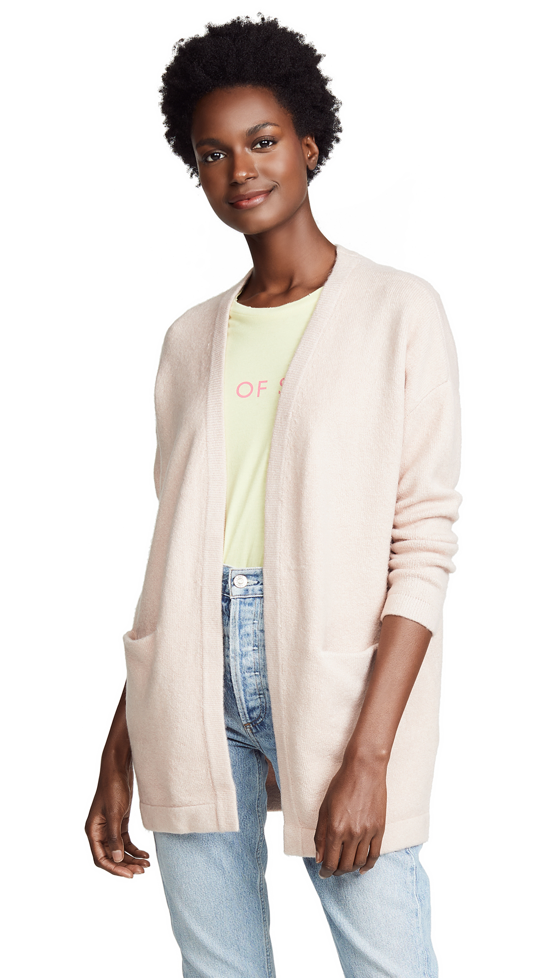 KNOT SISTERS Candi Cardigan in Blush