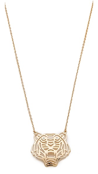 KENZO Tiger Necklace - Gold