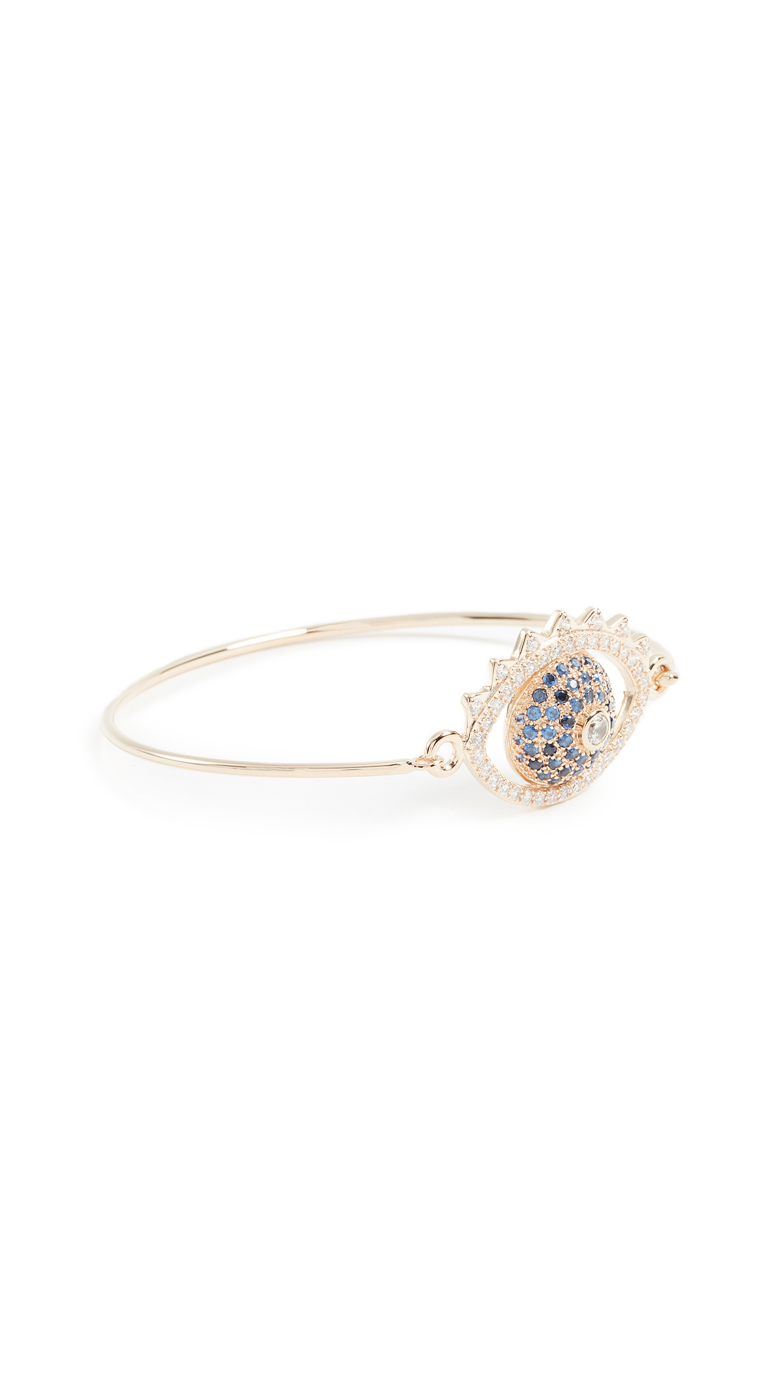 KENZO Eye Bracelet - Blue/Gold