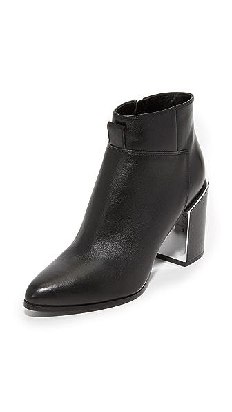 KENZO Heeled Booties - Noir