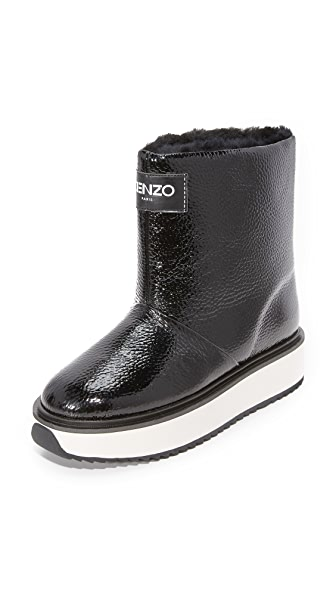 KENZO Snow Boots - Noir