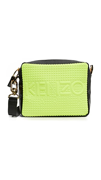 KENZO Neoprene Camera Bag - Gray