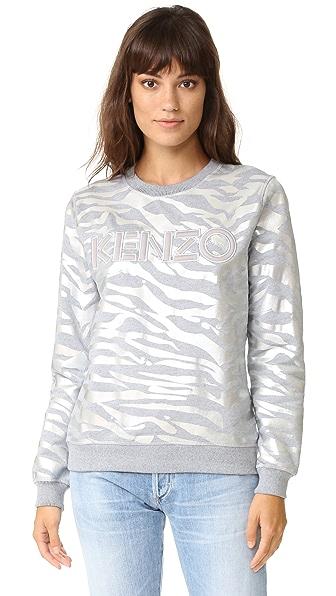 KENZO Light Brushed Molleton Sweatshirt