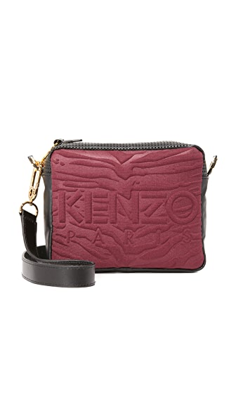 KENZO Canvas Camera Bag