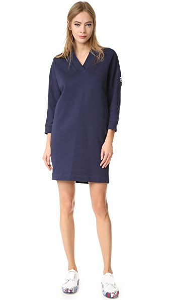 KENZO Logo Cotton Tunic Dress