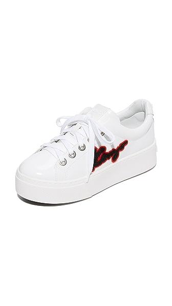 KENZO Kenzo Platform Sneakers - White