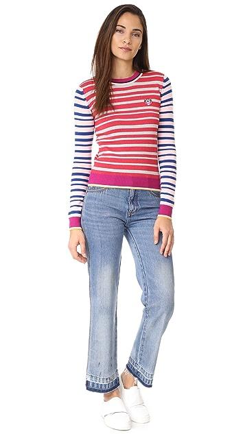 KENZO Fancy Collar Comfy Sweater