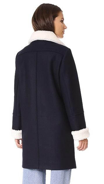 KENZO Double Breasted Coat