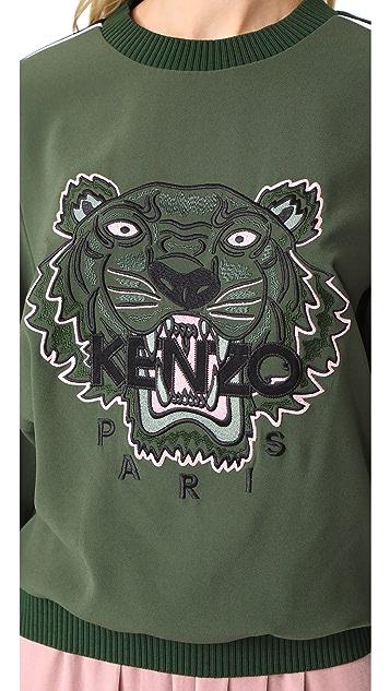 KENZO Soft Tiger Top