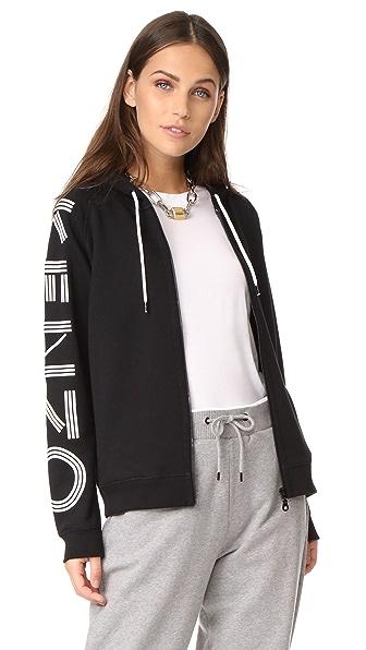 KENZO KENZO Hooded Sweatshirt - Black