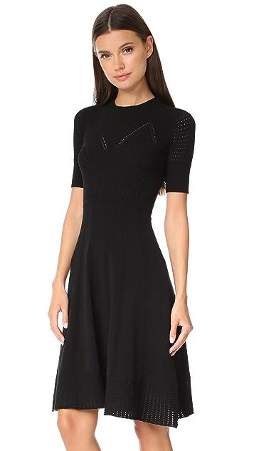 KENZO Knee Length Fit & Flare Dress