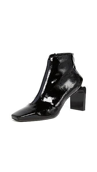KENZO Shasta Heeled Booties In Black