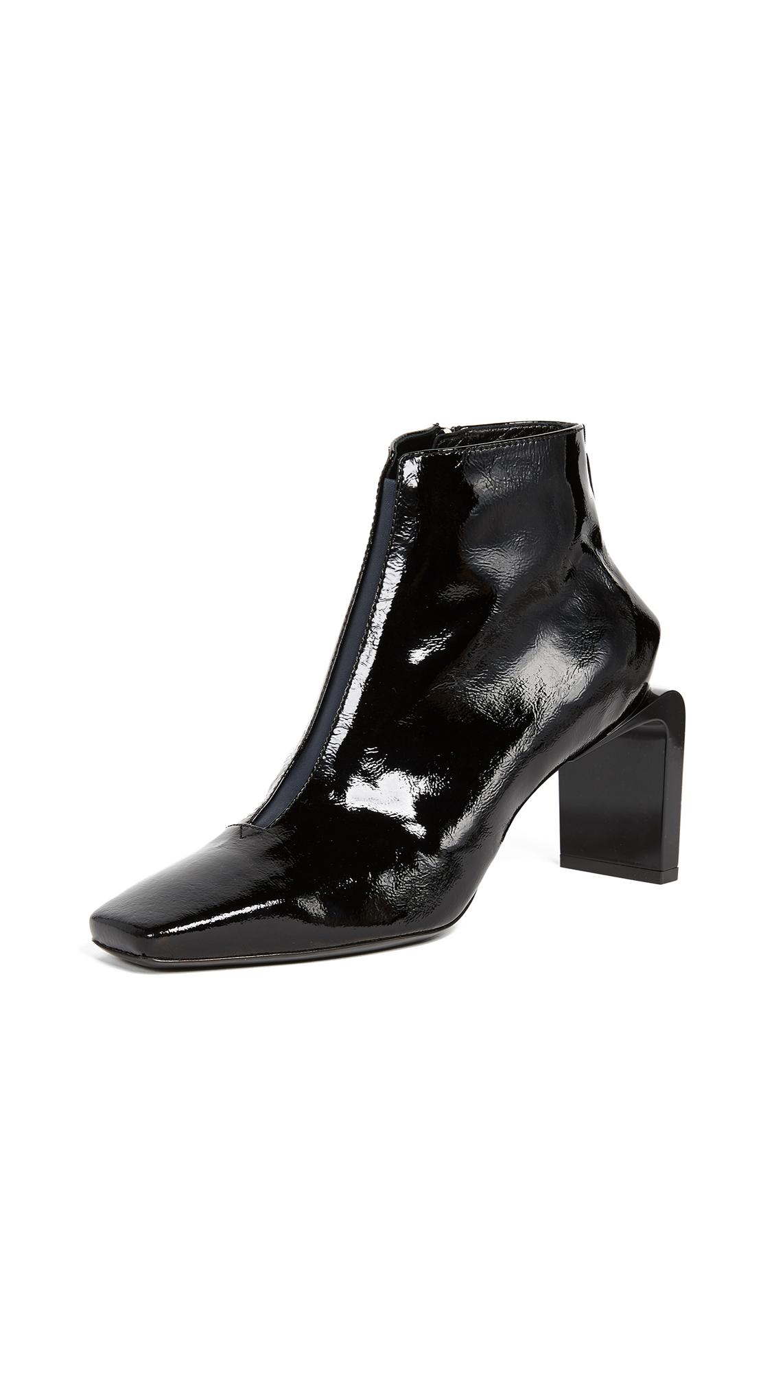 KENZO Shasta Heeled Booties - Black
