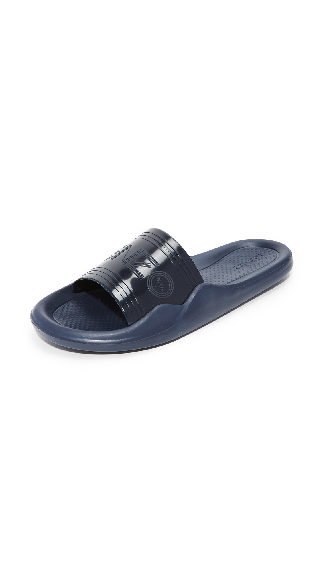 KENZO Pool Slide Sandals - Navy Blue