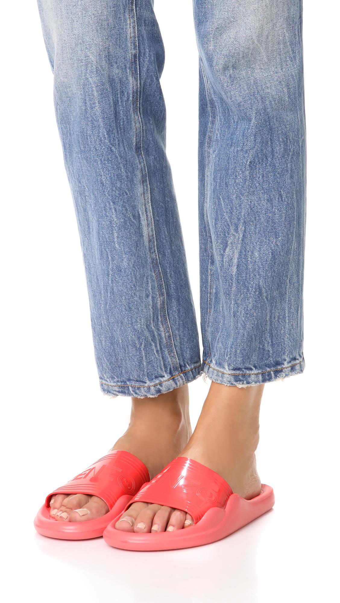 c6ade0ff1 KENZO Pool Slide Sandals   SHOPBOP