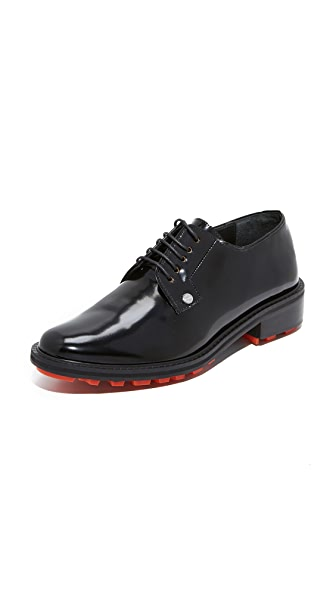 KENZO Gorgia Brogue Oxfords - Black