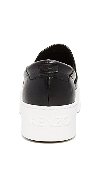 KENZO Kpy Platform Slip On Sneakers