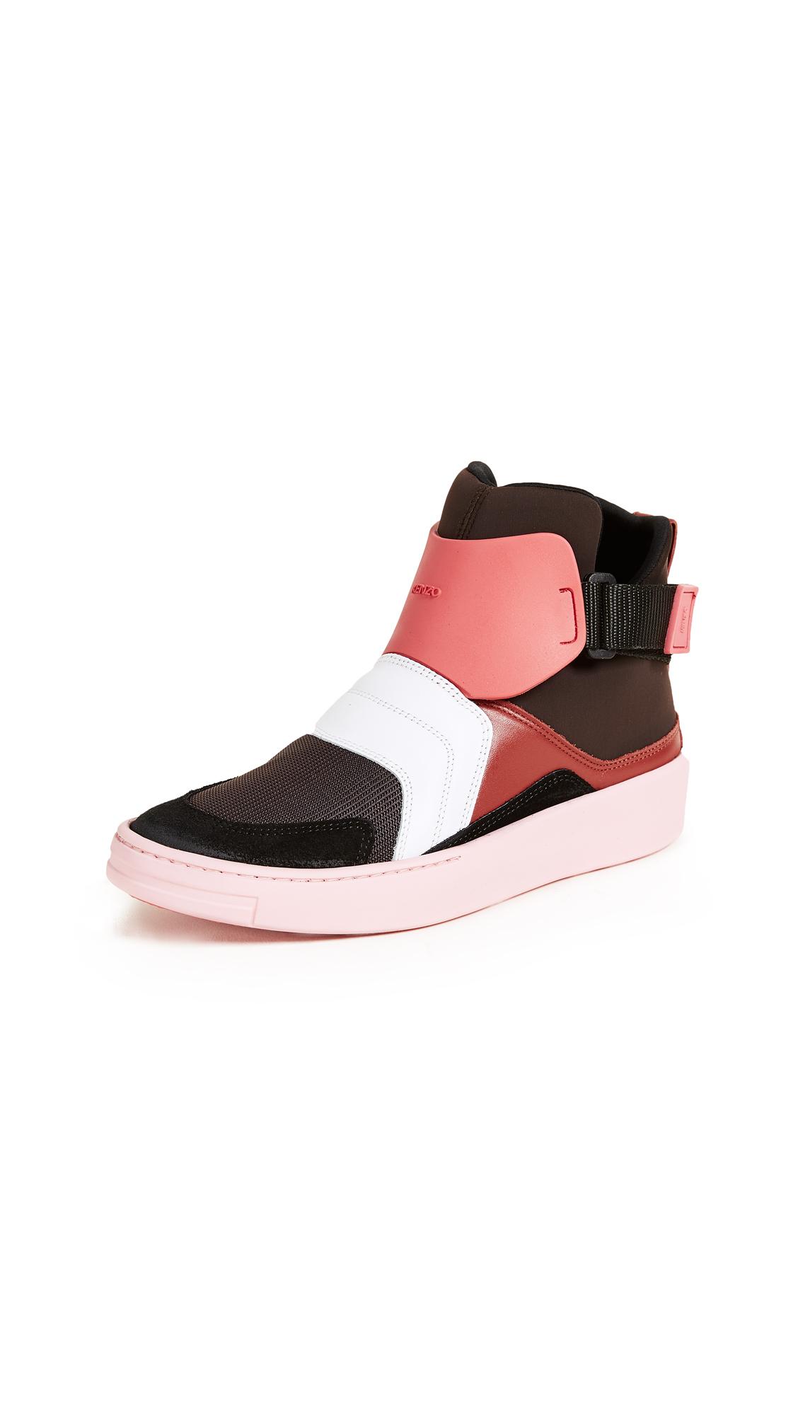 KENZO K-Block Sneakers - Coral