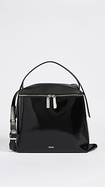 KENZO Medium Hobo Bag - Black
