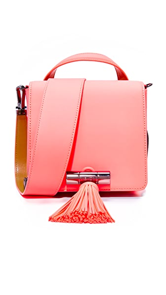 KENZO Mini Top Handle Bag - Coral